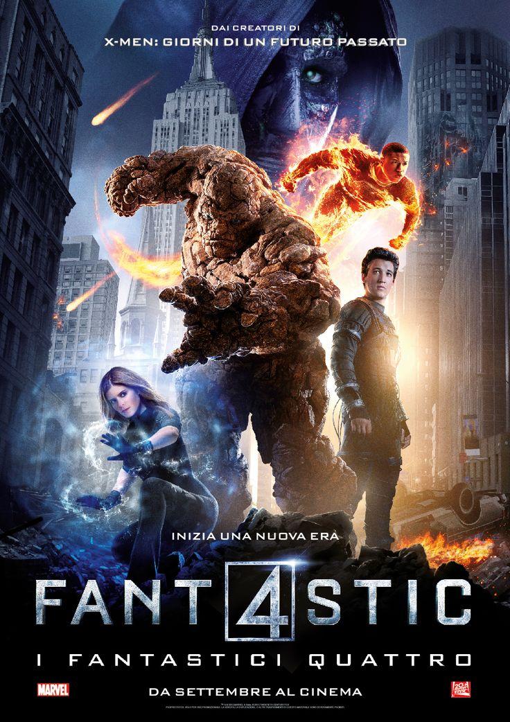 Fantastic 4 - I Fantastici Quattro diretto da Josh Trank con Miles Teller, Kate Mara, Michael B. Jordan, Jamie Bell and Toby Kebbell. #Fantastic4 #FantasticiQuattro