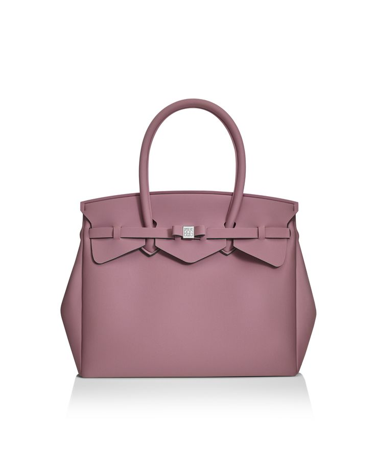 Our iconic tote just got bigger! The Miss 3/4 is the roomier version of our iconic tote. Perfect for women who never have enough room! Light, versatile and available in 30 colours.  Size  395 x 340 x 190 mm  510g  Made in Italy  Vegan Friendly  Made from Poly-Lycra Fabric   Antique Rose