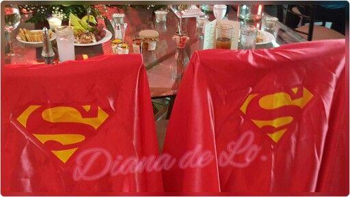 Super mesa de novios #superman #wedding