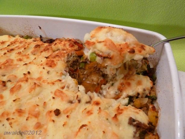 Easy Shepherd's Pie! Delicious! Shannon made this!
