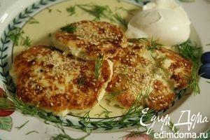 Жареные пирожки из картошки и творога