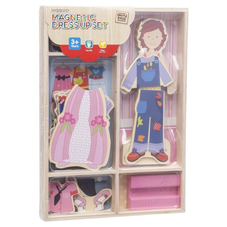 Magnetic dress up set @ Kmart - $10