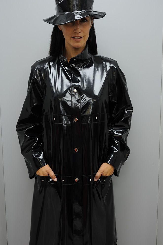 Ciré femme noir brillant nouvelle collection dans votre boutique Lm Gérard Prêt-à-porter féminin à Marseille - LM Gérard