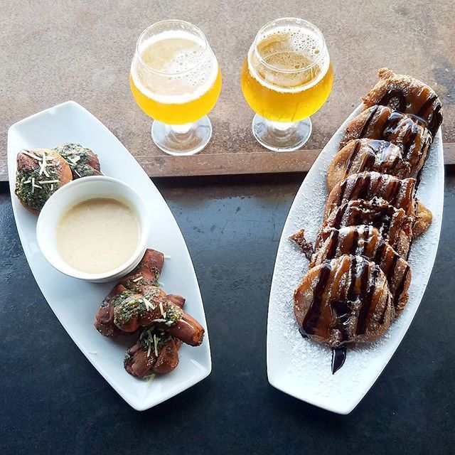 Tapas Tuesday, IPAs and Beignets!!...small plates: pest knots, french apple beignets, gravlax salad, chicken/mango sausage, spicy mango wings, newly tapped @burgeonbeer from concentrate n.e. ipa and @residentbrewing megamaser ipa, live music from 6:30 - 9pm 🍻 #sandiego #sandiegoconnection #sdlocals #sandiegolocals - posted by Priority Public House https://www.instagram.com/prioritypublichouse. See more San Diego Beer at http://sdconnection.com