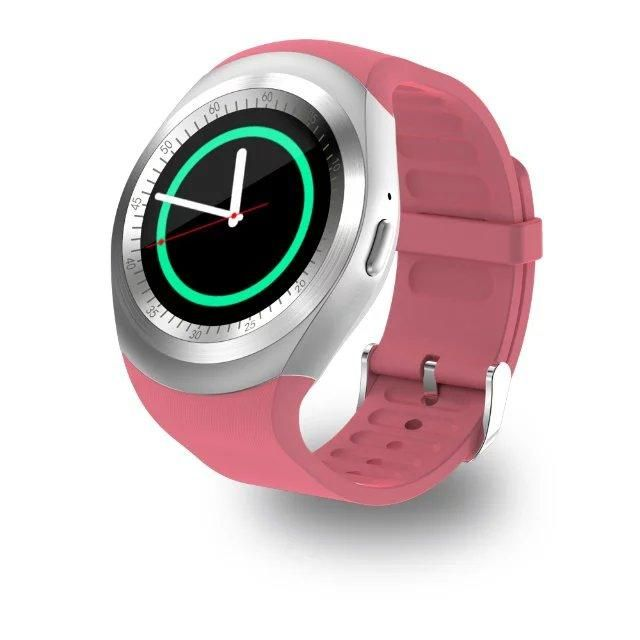 b742fbad2 2018 Smart Watch Round Support Nano SIM &TF Card With Bluetooth 3.0 Men  Women Smartwatch