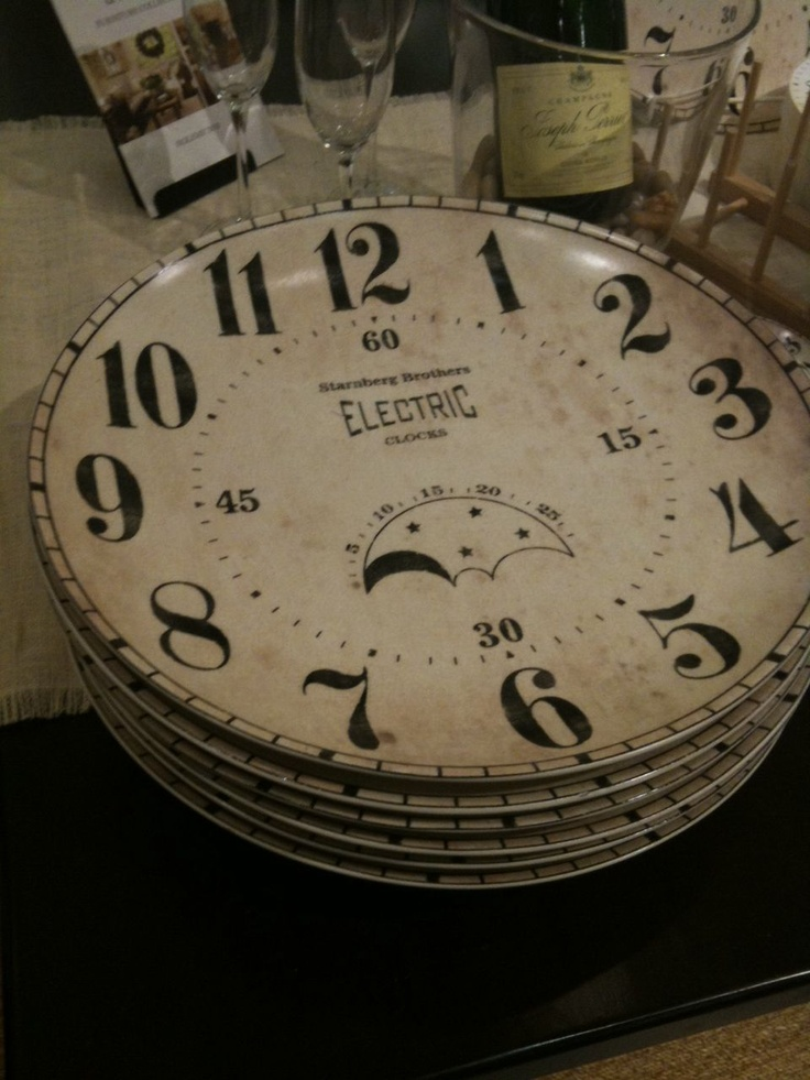 36 Best Clock Plates Images On Pinterest Happy New Years