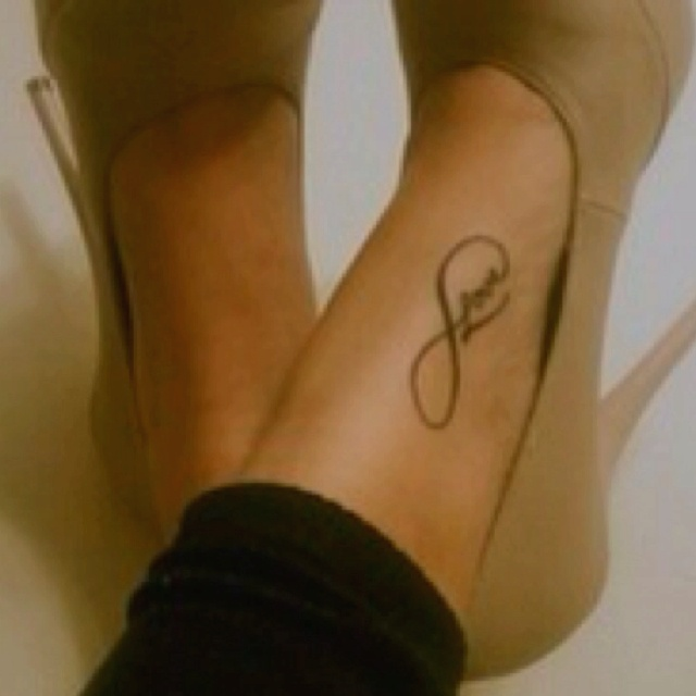 17 Best Ideas About Eternal Love Tattoo On Pinterest