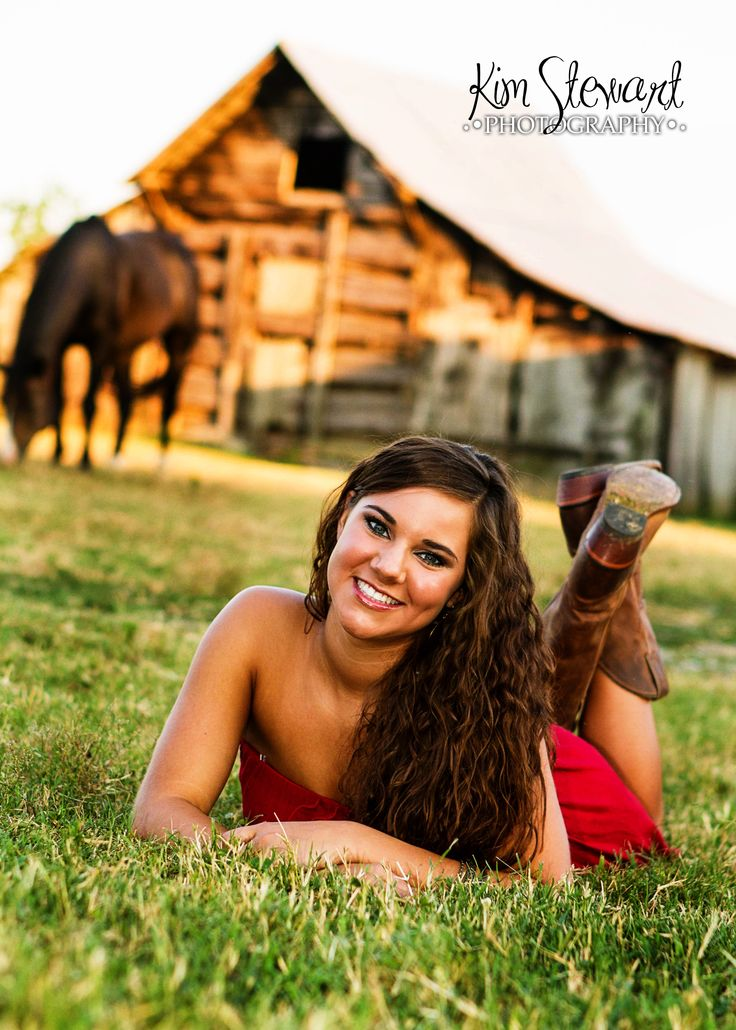 Senior girl session... Country