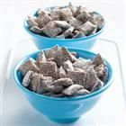 "Chex(R) Muddy Buddies(R) - Another popular name for this favorite mix is ""puppy food"". Chow down; it's doggone good!"