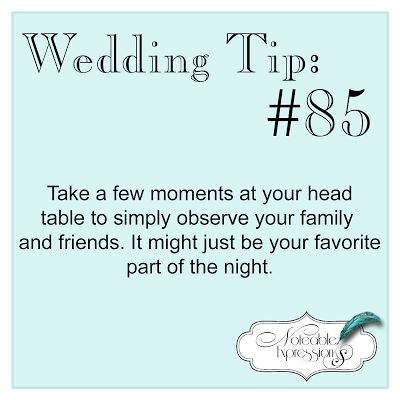Noteable Expressions: Wedding Tip Tuesday #85