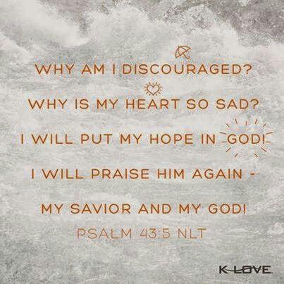 Psalm 43:5 NLT