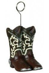 Décoration Boots Cow-boy porte-nom