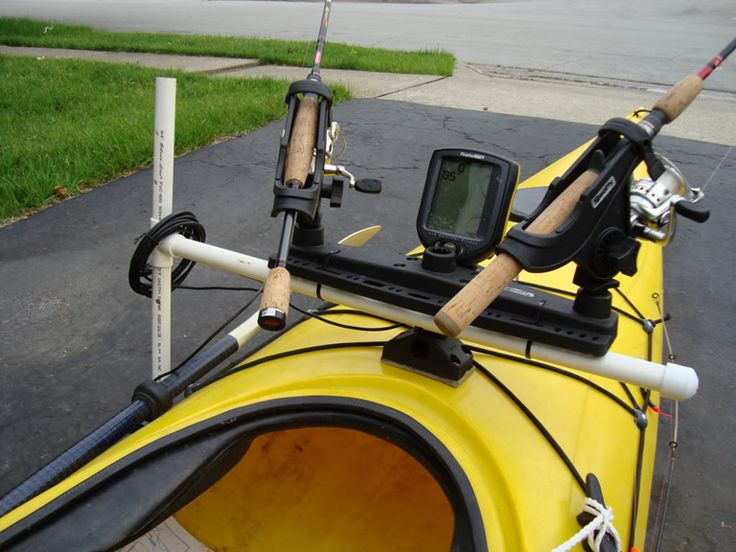 1000 images about kayaks on pinterest kayaking kayak for Kayak fishing pole holder