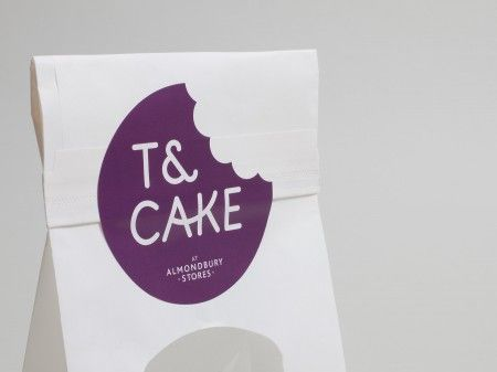 Beautiful new identity for Yorkshire based cafe, T & Cake, by Build.