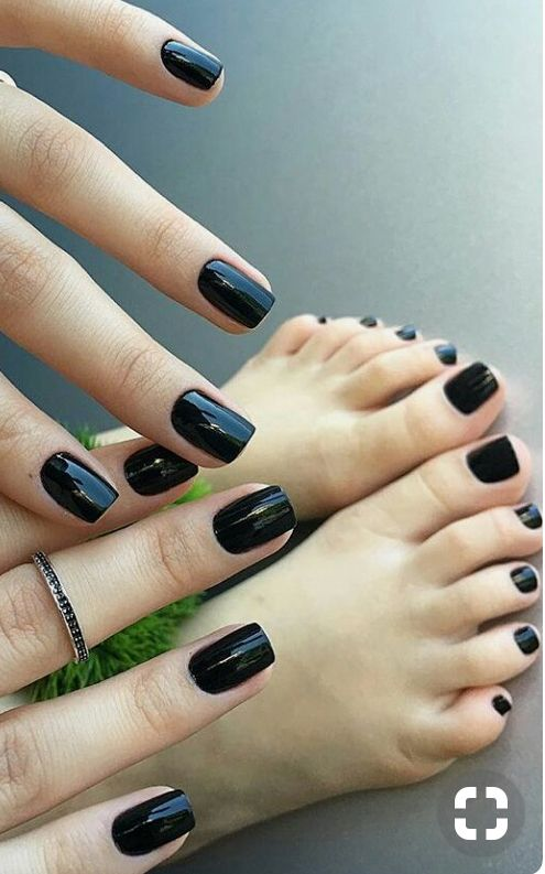 Are mistaken. sexy girls with black toenail polish something
