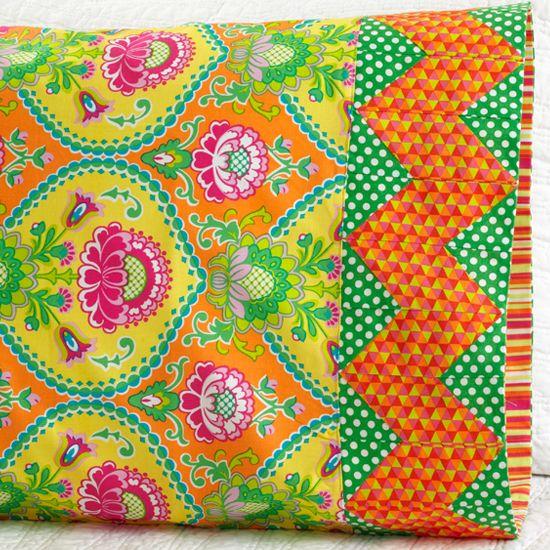 Pillowcase Pattern 30: Chevron Band