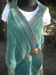 beautiful saori love the simplicity of the pattern