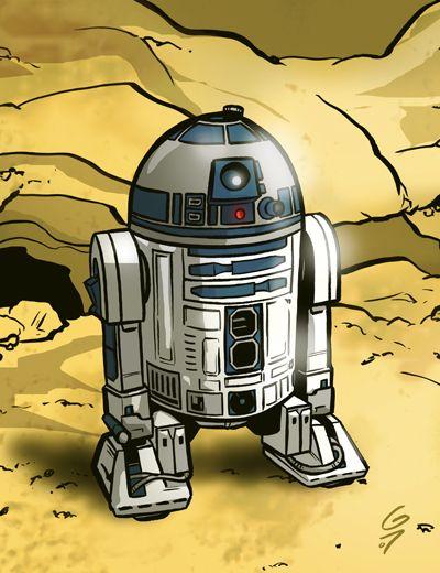 Artoo by grantgoboom.deviantart.com on @deviantART