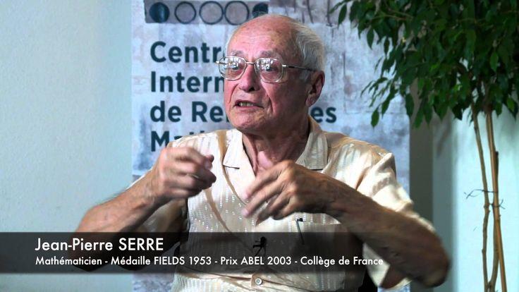 Entretien au CIRM : Jean-Pierre SERRE avec Jean-Louis COLLIOT-THELENE
