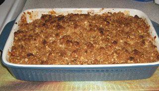 Croustade aux pommes à la Marie-doune | .recettes.qc.ca