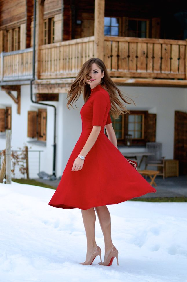 Great Red Dress Love The Shoes Red Dress Shoes Cute