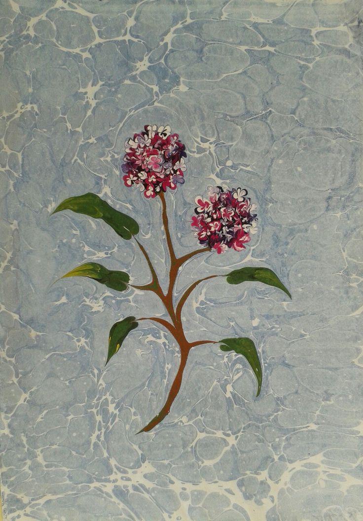 ebru sanatı(marbling art) by mai hatti