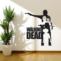 Home |  Walking Dead Wall Decal Sticker Sticker Vinyl The Walking Dead Collection3 Wall Art Banksy Wall Art Wall Stickers Home Decor
