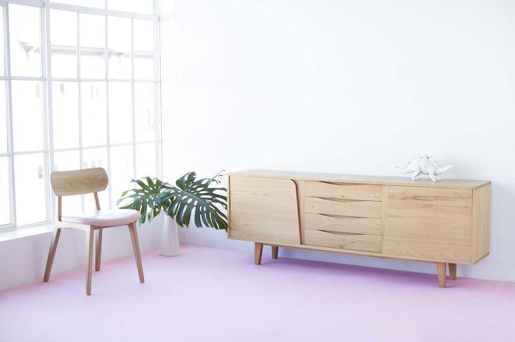The Talma Buffet & Practice Chair.    #chair #talma #sideboard #furniture #benglassfurniture