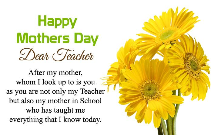 Happy Mothers Day Teacher Wishes Messages With Quotes Images Happymothersday Mot Mothers Day Inspirational Quotes Happy Mother Day Quotes Mother Day Message