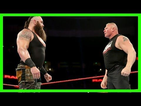 WWE RAW 9/18/2017: Wwe no mercy 2017: 3 possible finishes for braun strowman vs. brock lesnar