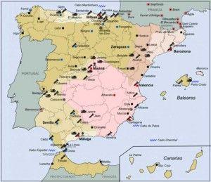 Historia de España en 15 mapas
