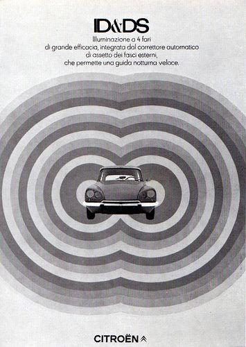 1960s Advertising - Poster - Citröen Italia 1 (Italy) by Pink Ponk, via Flickr