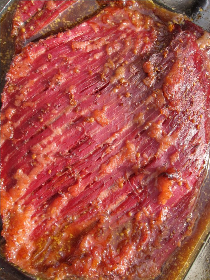 Guinness Glazed, Slow Cooker Corned Beef ~ on tomorrow's menu :) This is phenomenal!!!  My brisket came without a seasoning packet, but it definitely wasn't needed.