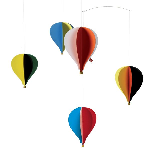 Balloon mobile by Flensted Mobiles.