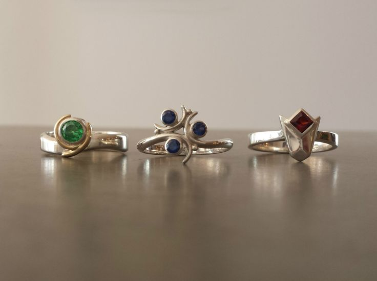 Engagement Ring Based On The Spiritual Stones From Legend