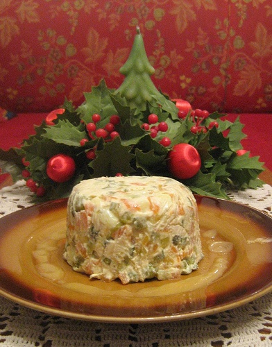 Olivier salad- heaviest salad everr