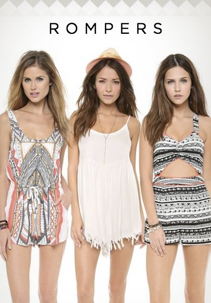 What to Wear to Coachella: Rompers