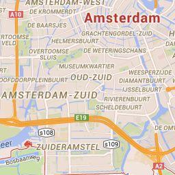 Amsterdão - Google Maps