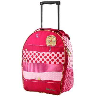 Le sac à dos trolley à roulettes Liz de Lilliputiens est pratique pour les voyages avec votre enfant mais aussi pour l'accompagner à l'école. Tantôt sac à dos, tantôt valise, il lui permettra de ranger plusieurs de ses affaires grâce à son grand compartiment de rangement.