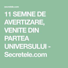11 SEMNE DE AVERTIZARE, VENITE DIN PARTEA UNIVERSULUI - Secretele.com