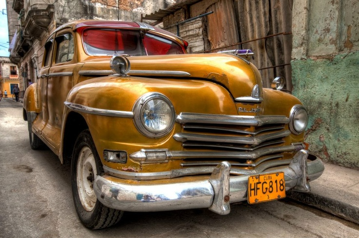 Auto antiguo en #Cuba