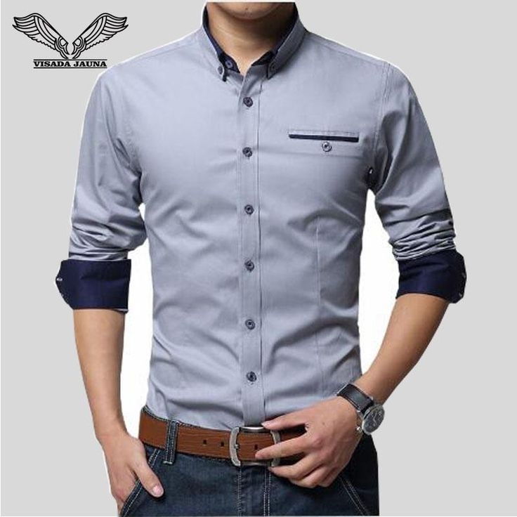 Novo lançamento!!! Camisa masculinas... Confira aqui! http://alphaimports.com.br/products/camisa-masculinas-manga-comprida-100-algodao-slim-fit-popular-marca-visada-jauna?utm_campaign=social_autopilot&utm_source=pin&utm_medium=pin
