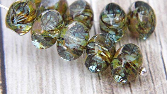 Gotham Quadries Czech Beads Bead Supplies sb0381 by SupplyBeads