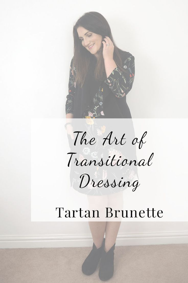 There is an art to transitional dressing, click through to read 3 tips to help…