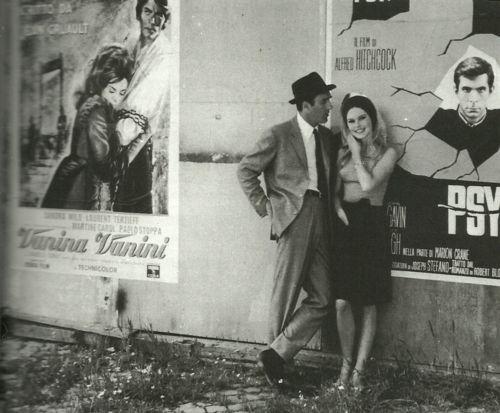 Camille (Brigitte Bardot) e Paul (Michel Piccoli) in Le Mépris,directed by Jean-Luc Godard - 1963
