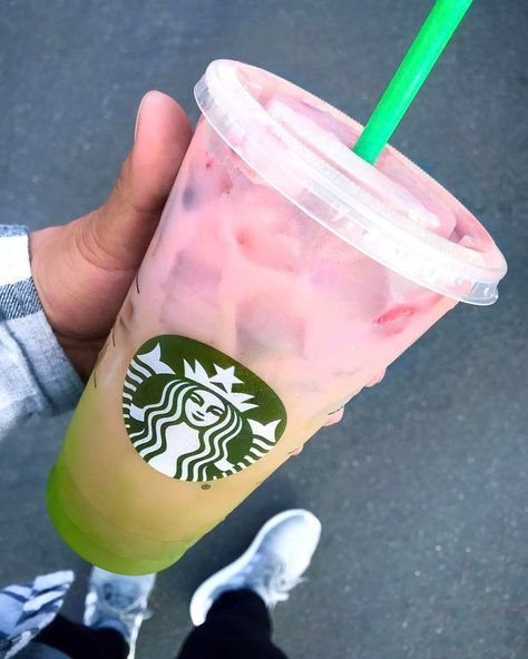 The Starbucks Secret Menu Now Features a Two-Toned Matcha Drink