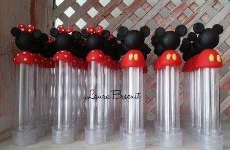 Tubetes Mickey e minie