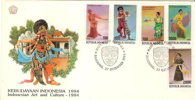 Stamp Kebudayaan Indonesia