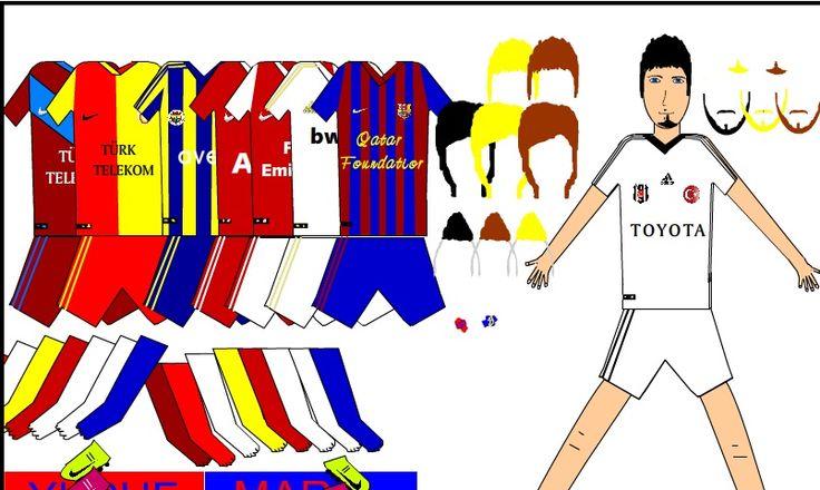 Türkçe oyunlar, Takımını Giydir oyununda eğlenceler dileriz. http://www.oyunn.net/turkce-oyunlar/takimini-giydir.html