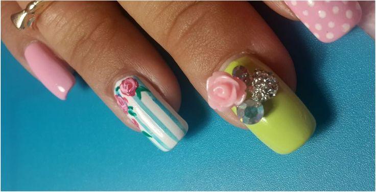 Ring-A-Rosies Manicure Jewel available from www.nailcandi.co.za -We ship worldwide!  Photo credit: Nailpolish-Aholic https://www.facebook.com/thenailpolishaholic?fref=ts